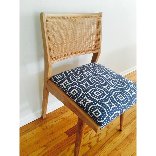 Boho Mid-Century Modern Cane Chair - Image 4 of 6