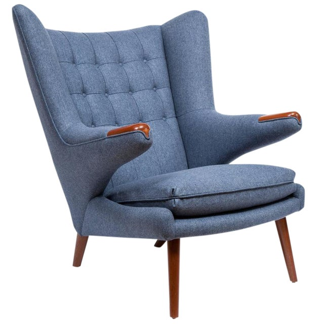 Pavel Wingback Armchair - Image 1 of 6