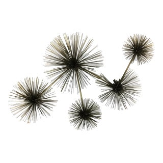 Curtis Jere Large Pom Pom Wall Sculptures - Set of 5