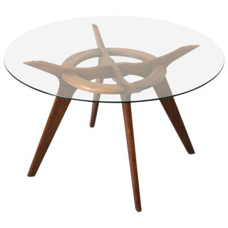 MID CENTURY SCULPTURAL DINING TABLE BY ADRIAN PEARSALL