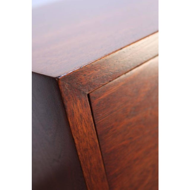 Mid-Century Walnut and Brass Credenza after Paul McCobb - Image 10 of 10