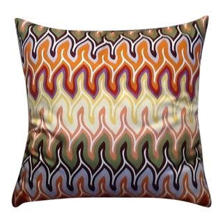 Custom Made Missoni Nadaun Fabric Pillow