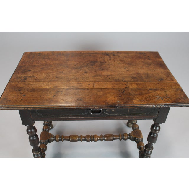 18th Century Walnut Console Table - Image 3 of 5