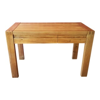 1980's French Butcher Block Table