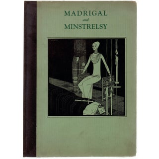 """Madrigal & Minstrelsy"" Art Deco Era Book"