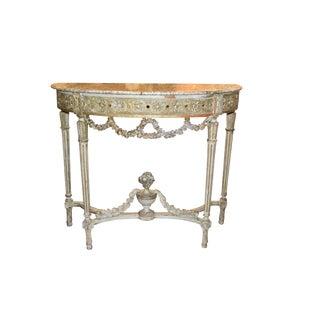 Antique French Louis XVI Console
