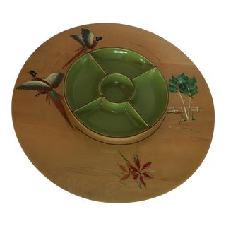 Retro Turntable Lazy Susan by Milwaukee Wisconsin Company