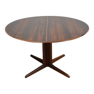 Dyrlund Rosewood Round Dining Table