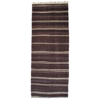 Massive Banded Kilim Wide Runner