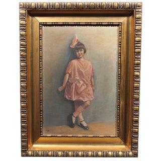 Sabrina Painting, 1923