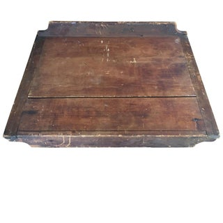 1800's Wooden Portable Cutting Board