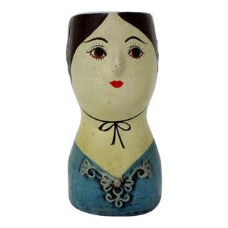 Vintage Ceramic Accent Vase