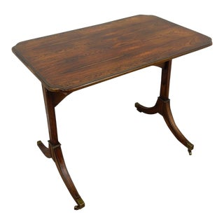 Baker Furniture Woburn Abby Rosewood Tea Table