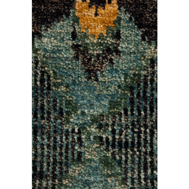 "New Ikat Hand Knotted Area Rug - 10' x 13'8"" - Image 3 of 3"