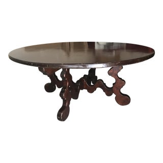 Wooden Circular Dining Table
