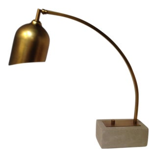 Concrete Base Arc Lamp