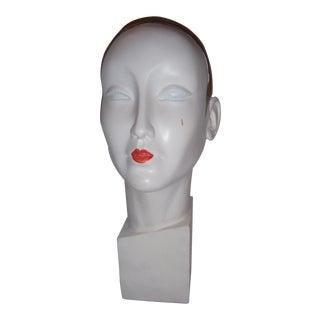 Art Deco Style Mannequin Head