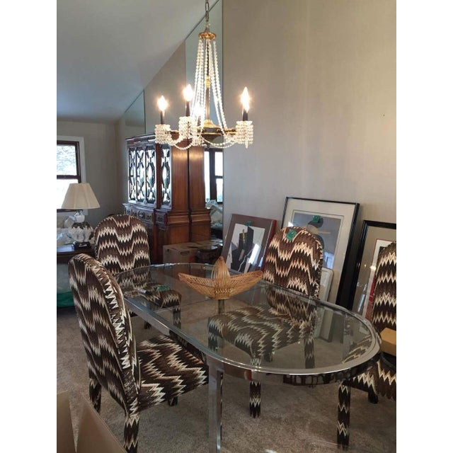Milo Baughman for Design Institute of America Chrome Dining Table - Image 7 of 10