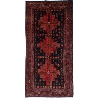 "Vintage Persian Zanjan Rug- 4'3"" x 8'9"""