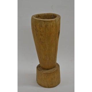 Treen, Early Hornbeam Mortar
