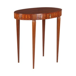 French Art Deco Side Table, Rulhmann Style