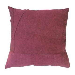 Plum Burmese Pillow