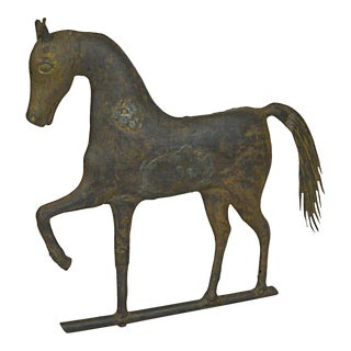 A.L. Jewell & Company Prancing Horse Weathervane