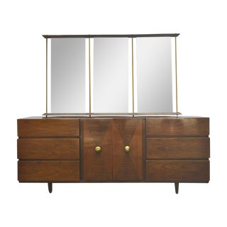 American of Martinsville Dresser & Mirror