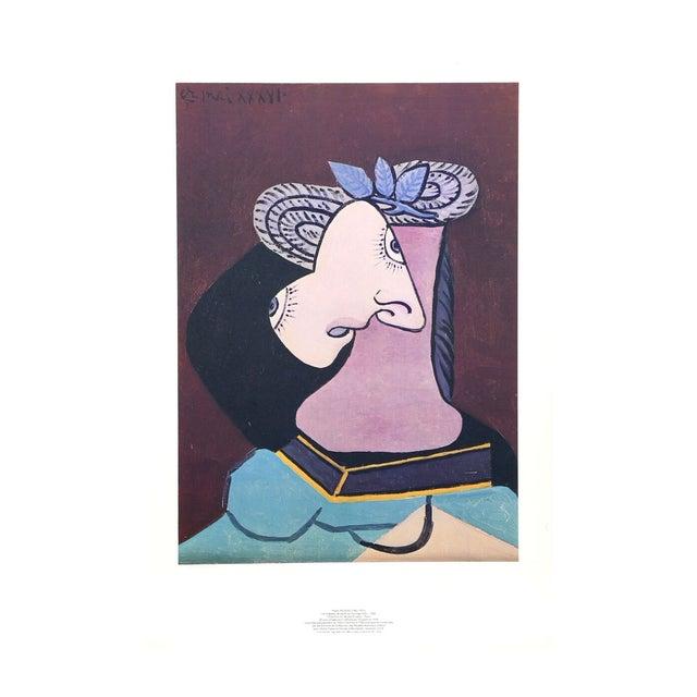 """Image of Pablo Picasso """"Le Chapeau De Paille"""" Lithograph"""