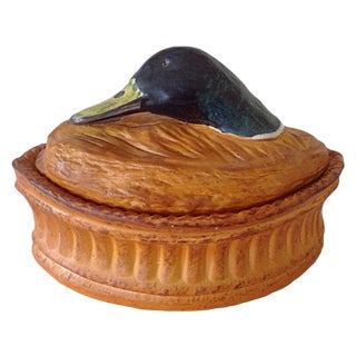 French Duck Tureen