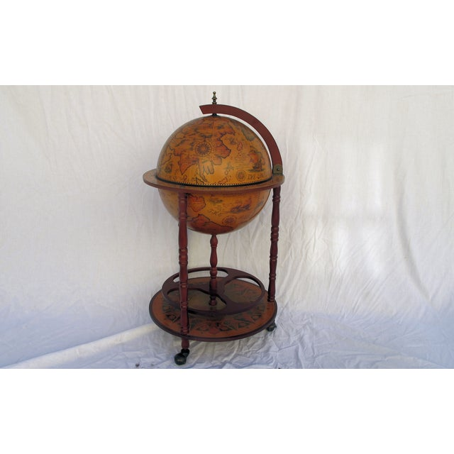 1960s Italian Globe Bar - Image 2 of 8