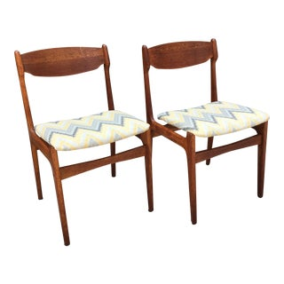 Findahl Møbler Danish Teak Dining Chairs - A Pair