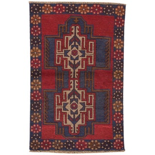 "Apadana - Vintage Baluch Rug, 2'8"" x 4'2"""