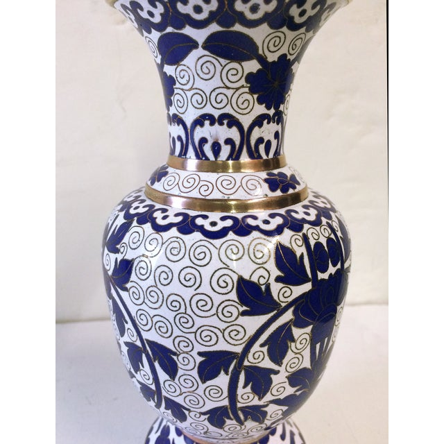 Image of Hellenic Decor Inspired Cloisonné Vase