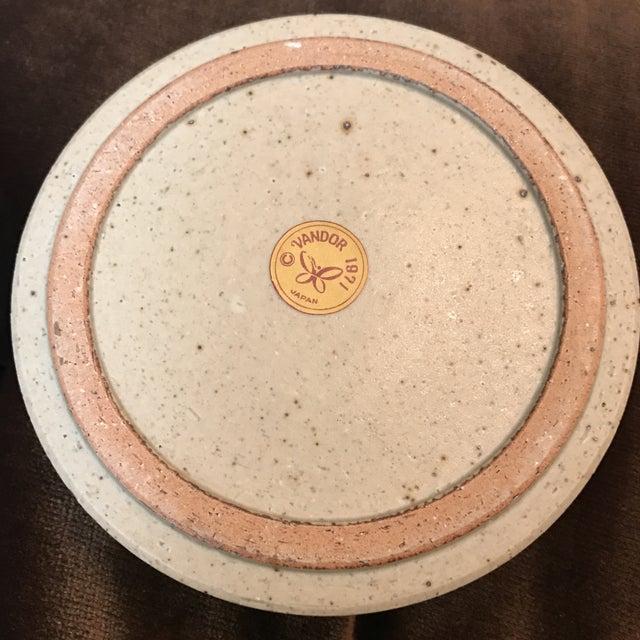 Japanese Stoneware Face Ashtrays - A Pair - Image 5 of 9