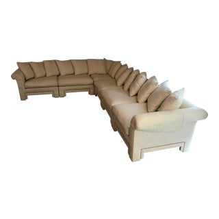 Drexel Heritage White Sectional Sofa