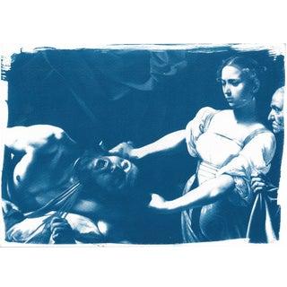 Cyanotype Print - Caravaggio Painting
