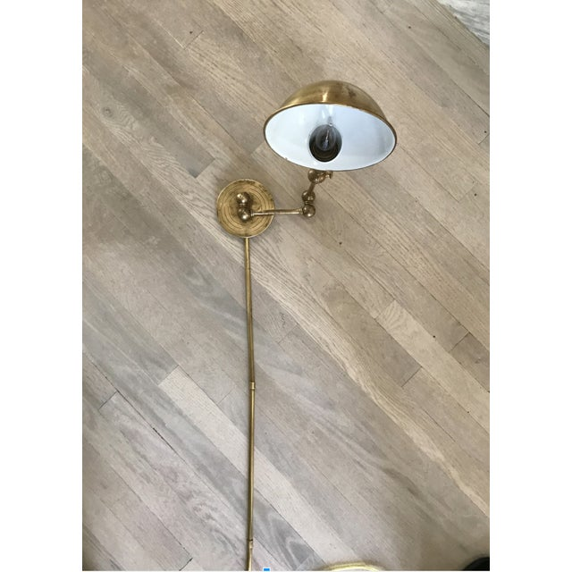 Visual Comfort Brass Wall Light - Image 2 of 3