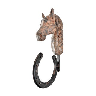 Iron Horseshoe Wall Hook