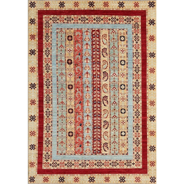 Pasargad Ferehan Oriental Wool Area Rug - 8'x10' - Image 1 of 5