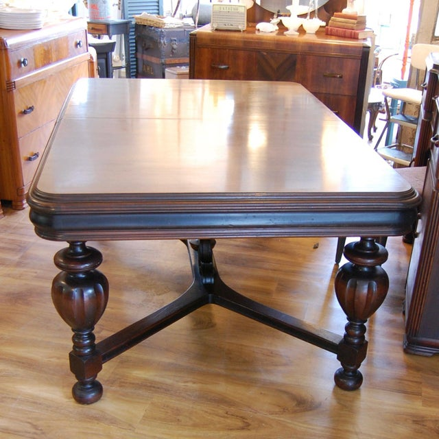 Vintage Traditional Mahogany Table - Image 4 of 8