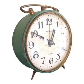 Green Vintage Bedside Clock
