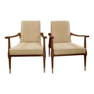 Caracole Dryden Chairs - A Pair