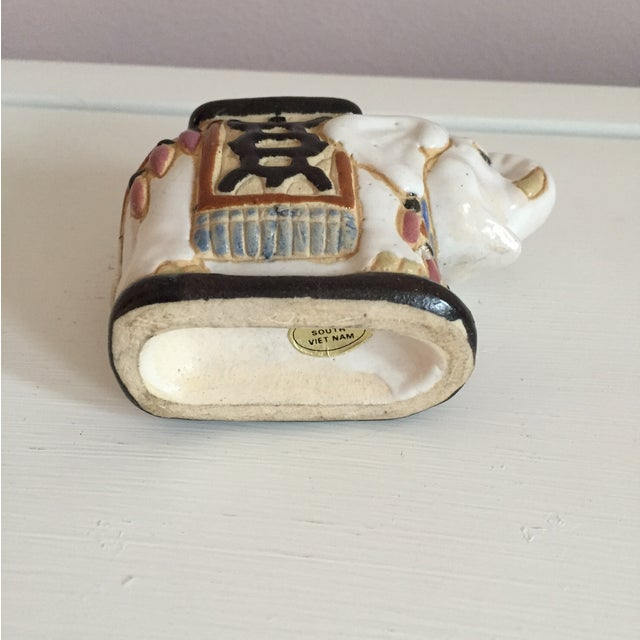 Mini Elephant Ceramic Containers - a Pair - Image 8 of 9