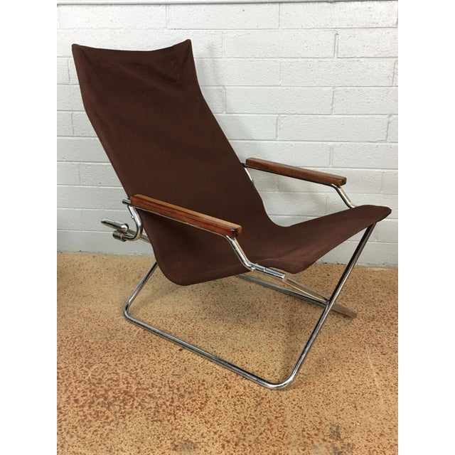 Folding Sling Lounge Chair by Suekichi Uchida - Image 2 of 6