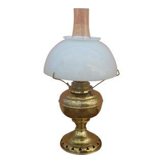 Converted Kerosene Table Lamp
