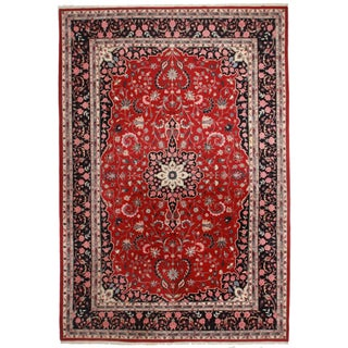 RugsinDallasVintage Persian Design Hand Knotted Wool Rug