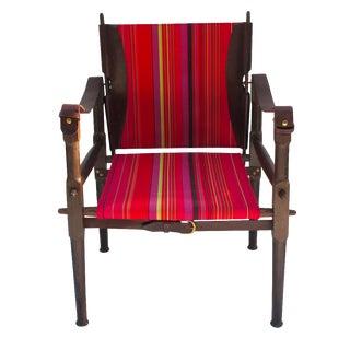Airdiem Paris Leather & Walnut Chair
