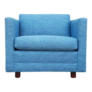 Vintage Blue Club Chair