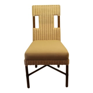 McGuire Thomas Pheasant Woven Core Dining Side Chair